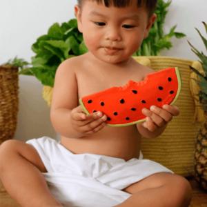OLI&CAROL. Μασητικό από φυσικό καουκτσούκ – Wally το καρπούζι