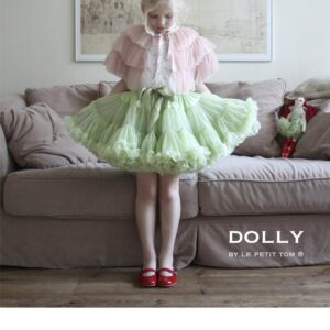 DOLLY BY LE PETIT TOM DRAGONFLY FAIRY PETIT SKIRT NEO MINT