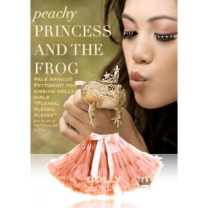 DOLLY BY LE PETIT TOM PRINCESS AND THE FROG SKIRT