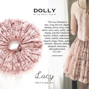 LACY LE PETIT TOM SKIRT PINK